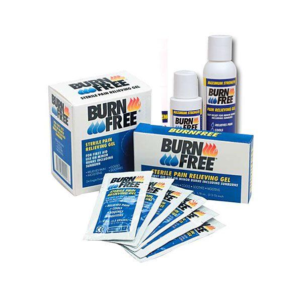 Productos Gel/pulverizador de Burn Free