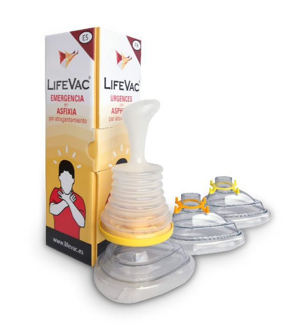Lifevac dispositivo anti atragantamiento