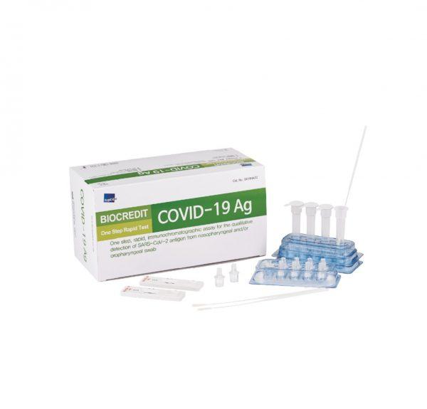 Test rápido de antígenos nasofaringeo