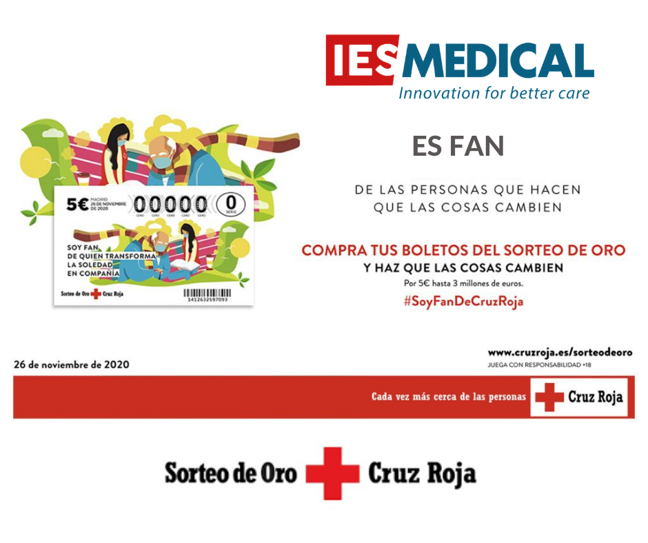 IES Medical colabora con Cruz Roja